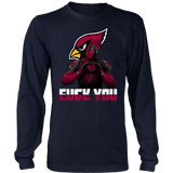 Arizona Cardinals x Deadpool Fuck You And Love You NFL Shirts
