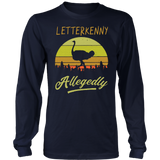 OSTRICH LETTERKENNY ALLEGEDLY RETRO SHIRT