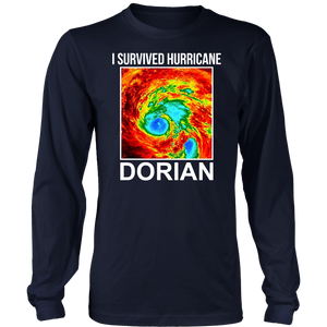 I Survived Hurricane Dorian Long Sleeve Shirt
