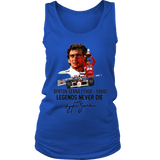 Ayrton Senna Legends Never Die T-Shirt