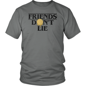 Stranger Things Friends Don't Lie Waffle T-Shirt