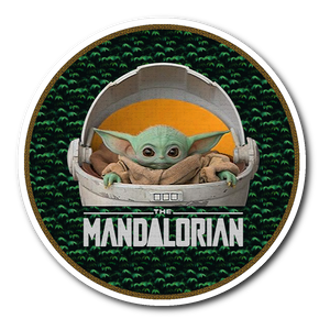 Baby Yoda Sticker - The Child Star Wars Mandalorian