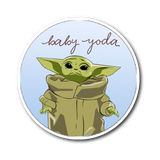 Baby Yoda Sticker  | Star Wars - The Mandalorian