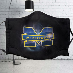 Michigan Wolverines Face Mask Filter