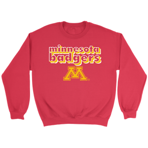 Minnesota Badgers Crewneck Sweatshirt