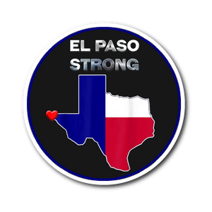 El Paso Strong Sticker #ElPasoStrong Gifts Sticker