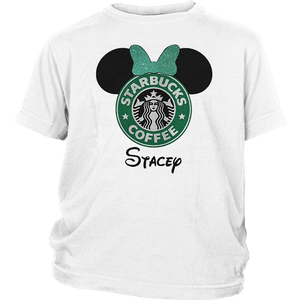 Minnie Starbucks Coffee Head Stacey T-Shirt