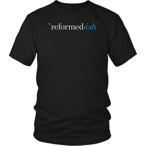 Reformed ish Particular Baptist The Barnabas Company T-Shirt