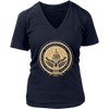 Inaugural Seal Navy Womens V-Neck - Presidential Inaugural Committee Store