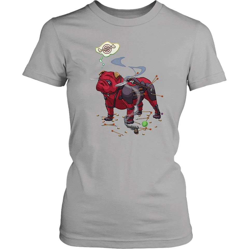 Pitbull Deadpool Target Dog Bone Shirts