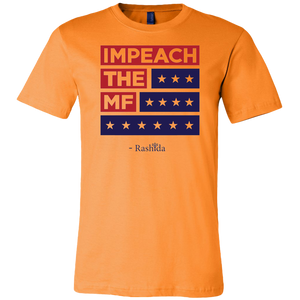 Impeach The Mf Canvas Mens Shirt T Shirt