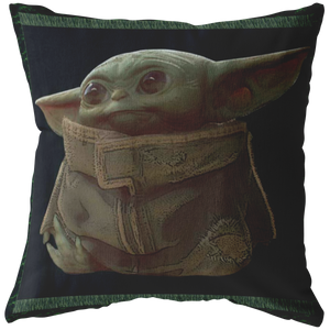 The Mandalorian The Child Portrait Pillow