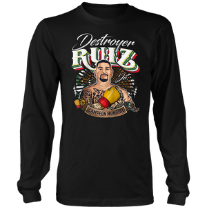 DESTROYER RUIZ JR WORLD CHAMPION SHIRT