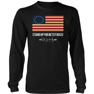 Stand Up For Betsy Ross Rush Limbaugh T-Shirt