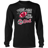 Ohio state girl touch down lovin' defense yellin' team supportin' shirt