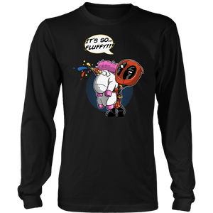 It's So Fluffy Unicorn Deadpool Despicable Me Mashup Shirts