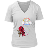 Fairy Unicorn And Fabulous Baby Deadpool Funny Cute Shirts