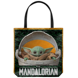 Baby Yoda Tote Bag The Mandalorian Tote Bag