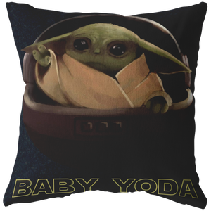 Baby Force Do Do Do Do Baby Yoda Pillow Mandalorian Star Wars Kawaii King Boba Fett Lion King Pride Rock Mandalorian