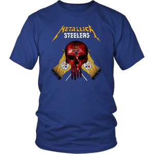 Metallic Steelers Shirt - Pittsburgh Steelers T-Shirt