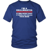 I'm a grillmaster if bbq were easy if would be called your mom shirt