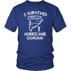 I Survived Hurricane Dorian T Shirt Pray For Puerto Rico