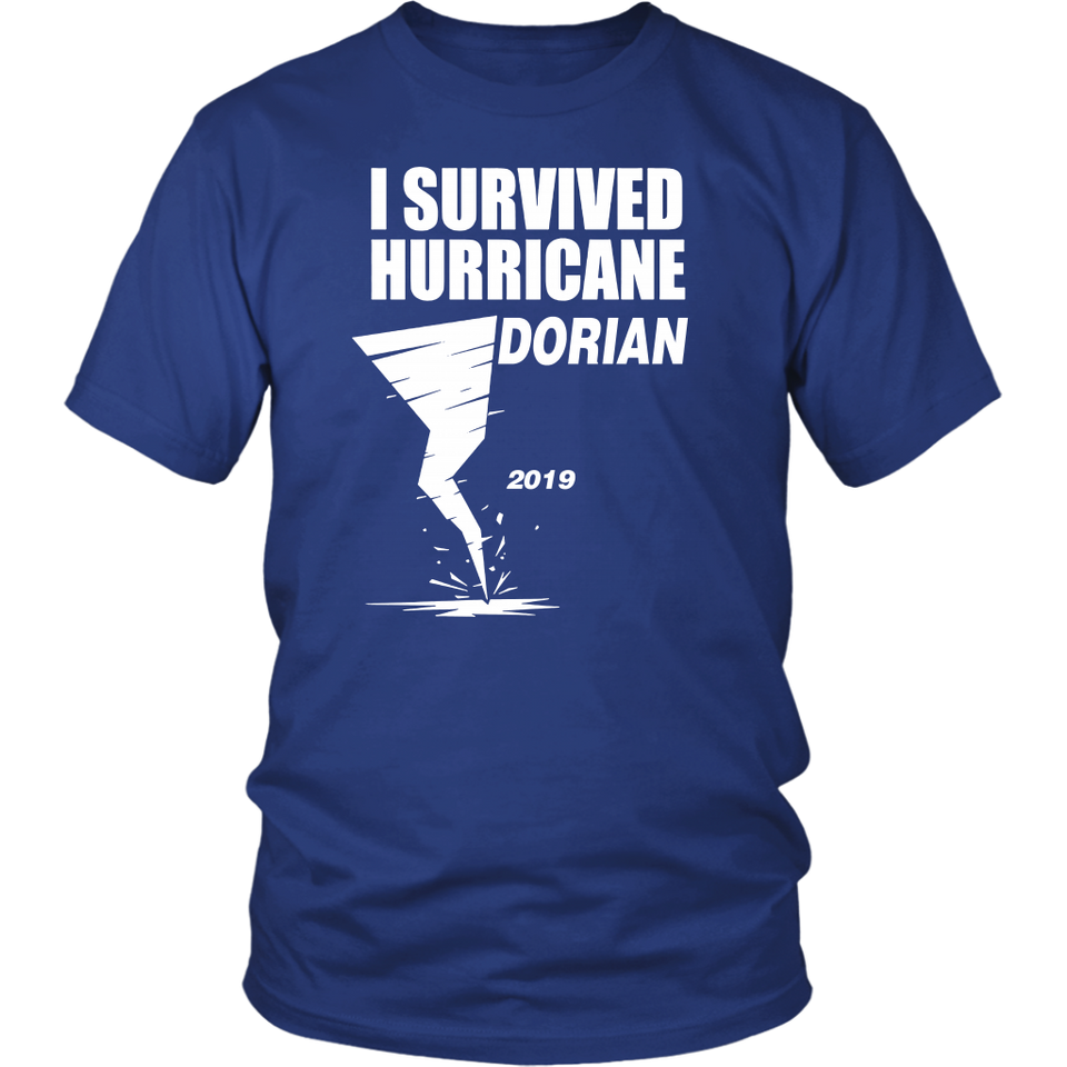 I Survived Hurricane Dorian 2019 T Shirt