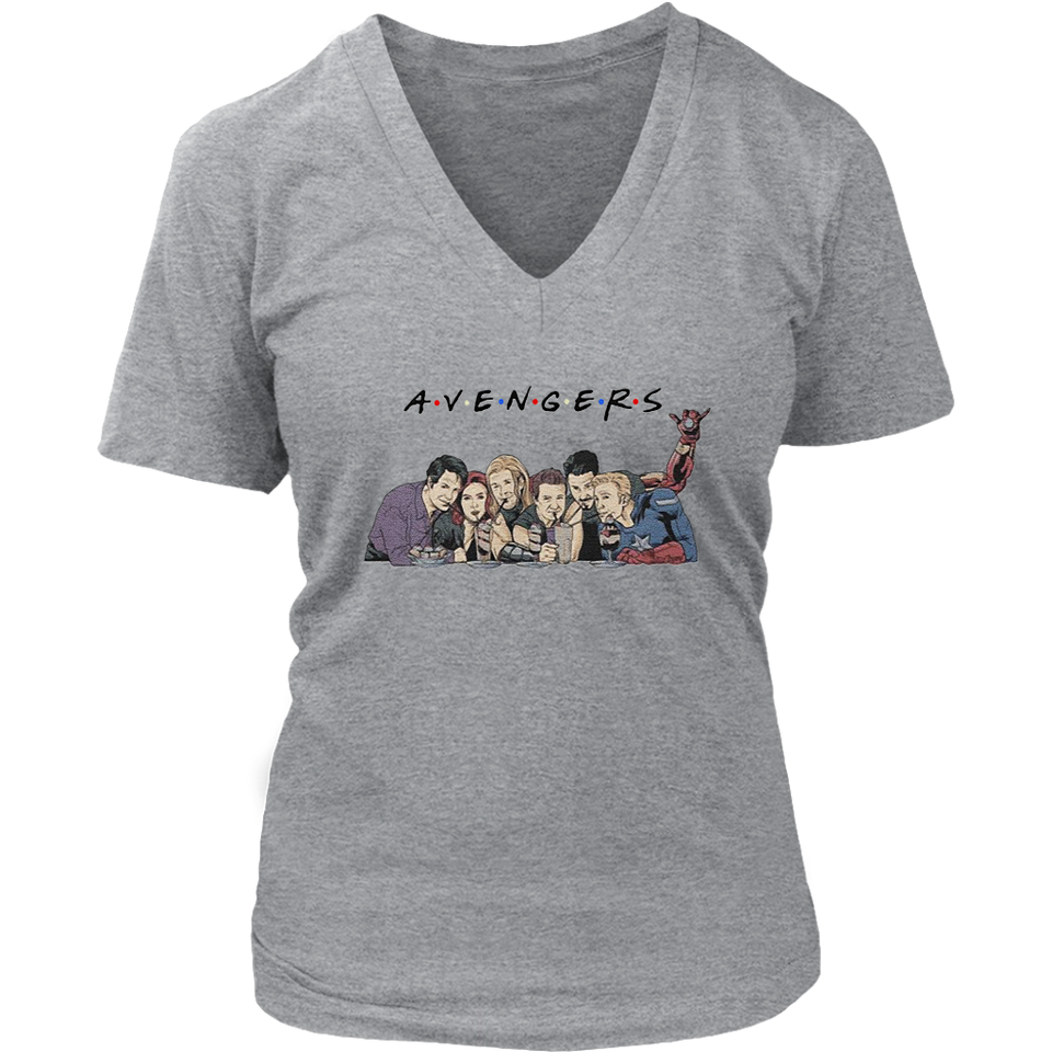 AVENGERS T-SHIRT FUNNY FRIENDS STRANGER THING SHIRT