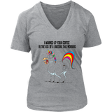 I Warmed Up Your Coffee In The Ass Of A Unicorn This Morning Shirt