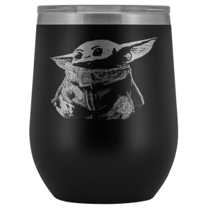 Star Wars Baby Yoda Wine Tumbler