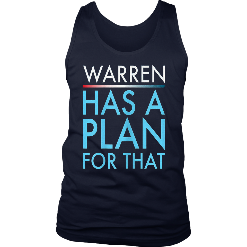 Warren has a plan for that T-Shirt