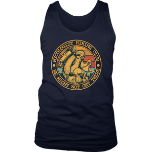 Mycologist Hiking Club We Might Not Get There Sloth T-Shirt