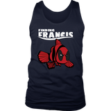 Finding Francis Disney Finding Nemo Marvel Deadpool Mashup Shirts