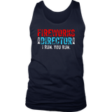 FIREWORKS DIRECTOR 4TH OF JULY SHIRT
