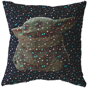 Star Wars Pillow The Mandalorian The Child Portrait Pillow