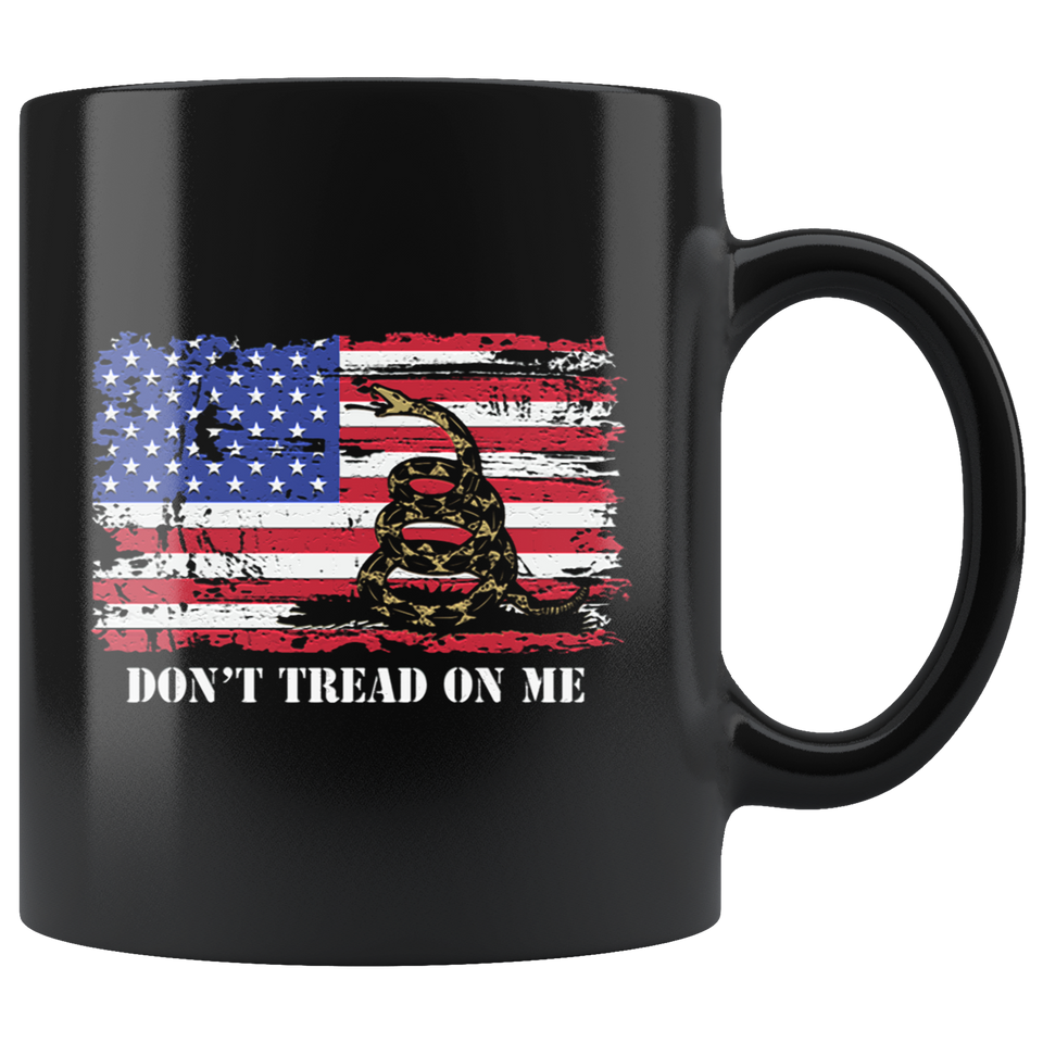 Chris Pratt Mug Don't Tread On Me Us Flag Mug
