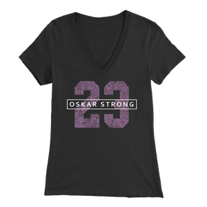 Oskar Strong 23 V-Neck Shirt