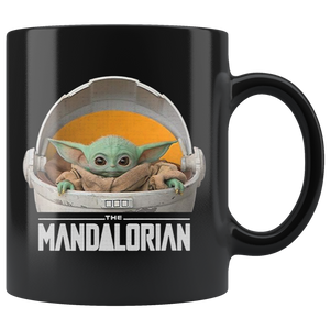 The Child Mandalorian Floating Pod Mug Coffee