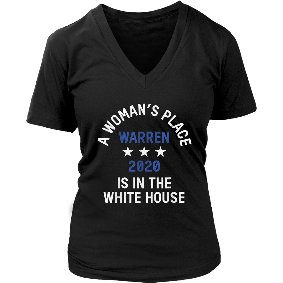Elizabeth Warren for President 2020 Distressed T-Shirt