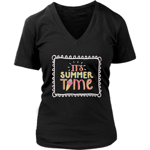 Its Summer Time Ice Cream Cone Cold Frozen T-Shirt