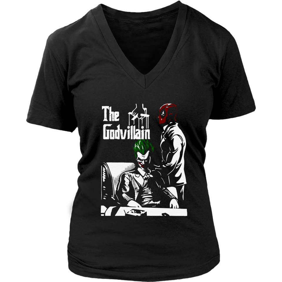 Deadpool And Joker The Godvillain The God Father Shirts