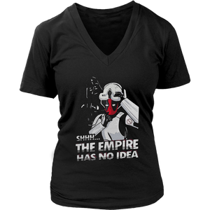 Deadpool x Star Wars The Empire Has No Idea Funny Shirts