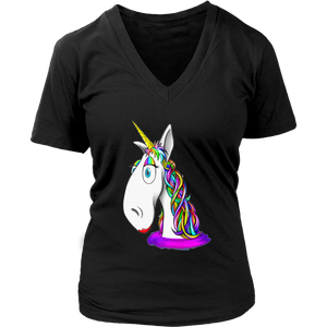 Unicorn Horn Rainbow Hair Cute Kids Love Great T-Shirt