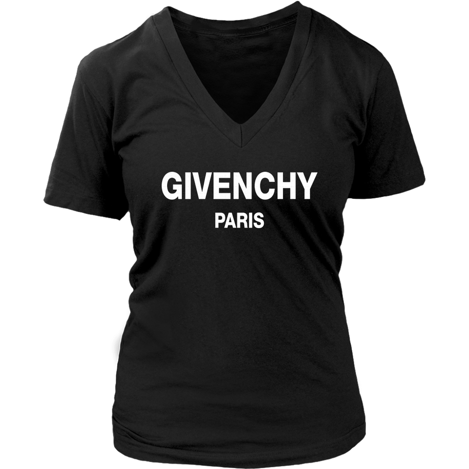 Givenchy Paris Racerback Tank T Shirt