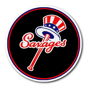 Savages Sticker New York Yankees Top Hat Emblem - Tommy Kahnle Sticker