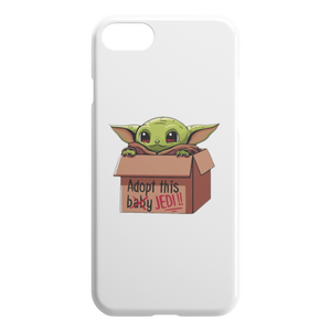 Iphone Case Baby Yoda Adopt this Baby Jedy - Gift for star Wars Lover - Phone Cover