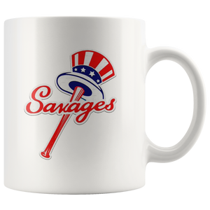 Savages Mug New York Yankees Top Hat Emblem – Tommy Kahnle Mug