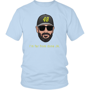 JIMMIE JOHNSON - I'M FAR FROM DONE JA SHIRT