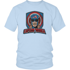 CAPTAIN 'MERICA SHIRT FUNNY JULY 4TH