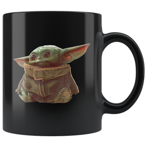 Star Wars The Mandalorian The Child Portrait Mug